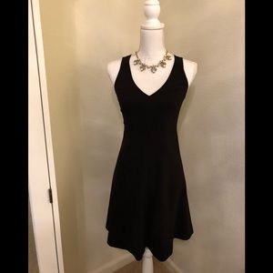 Rebecca Taylor Sleeveless Black Dress